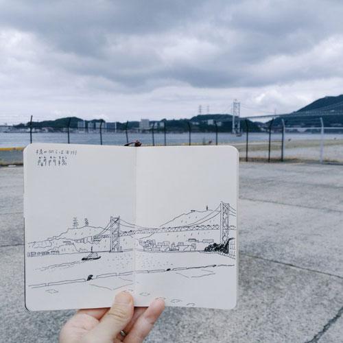 Sketches-Fukuoka